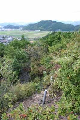 岩城城からの眺望