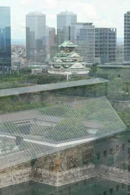 大阪城-鳥瞰