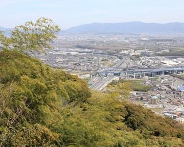 山�ア城からの眺望