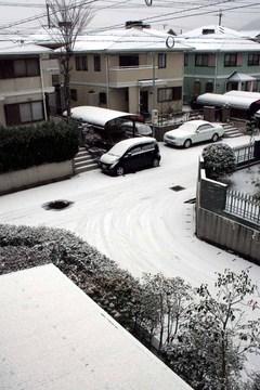 大晦日の雪-3