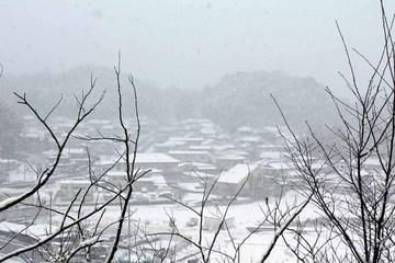 七日の雪-大山