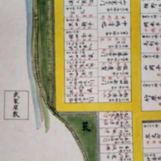 山崎藩古地図