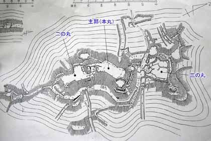 宇佐山-縄張S