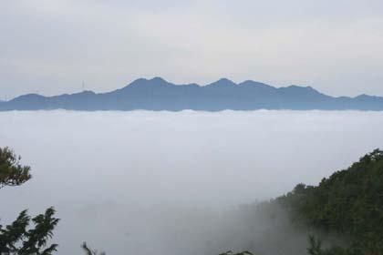 霧-松尾山
