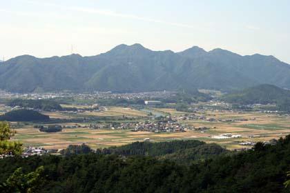 霧-秋の松尾山