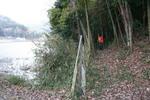 淀山-登り口