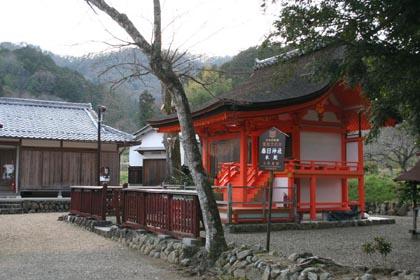 蜷川-神社