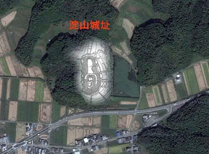 淀山-マップ