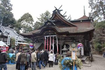 柏原-八幡社殿