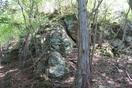 黒井_尾根の大岩